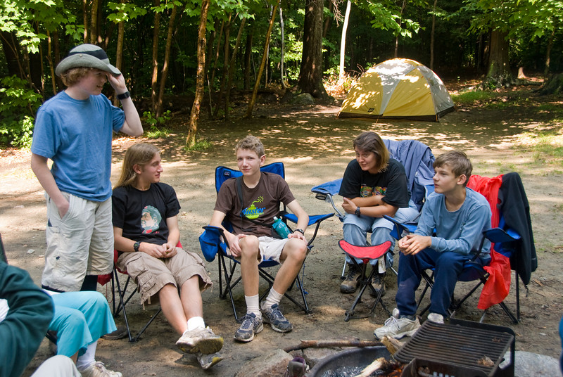 The group around the campfire   (Jul 05, 2007, 09:49am)
