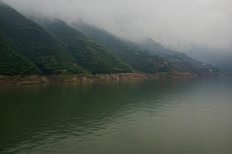 Repeating hills at Yangtze River