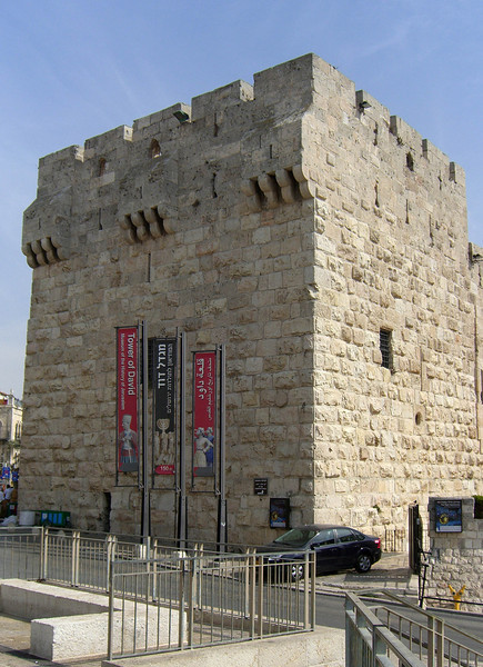 54-Tower of David, which holds the Museum of History of Jerusalem