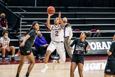 2021-Jan-17 NCAA Women's Basketball | Texas A&M v Mississippi State