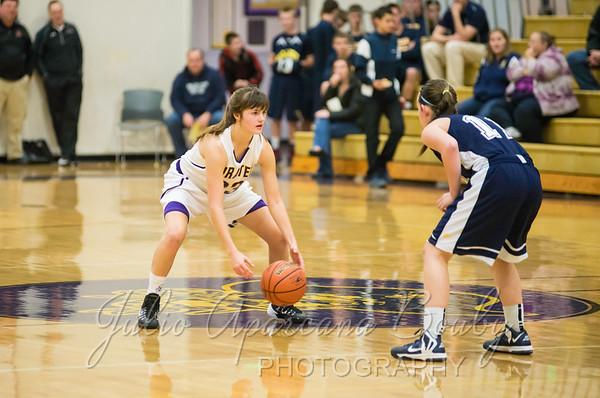 140104 MHS Girls Basketball vs Pleasant Hill