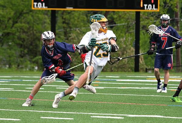 2016 BBA Varsity Boys Lacrosse vs MAU photos by Gary Baker