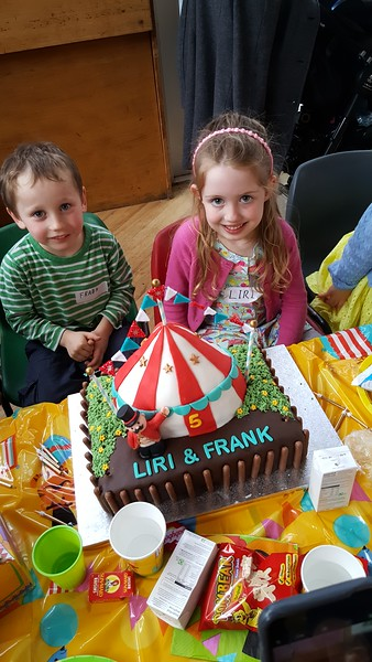 Liri's circus party