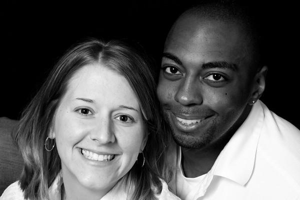 Amanda & Phillip B&W