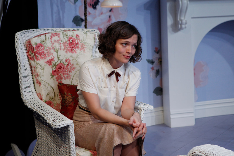 Leah Curney in IS LIFE WORTH LIVING? by Lennox Robinson  Photo: Richard Termine