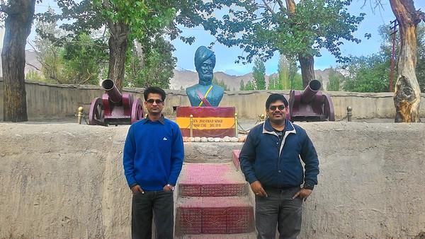 With Gen Zorawar Singh