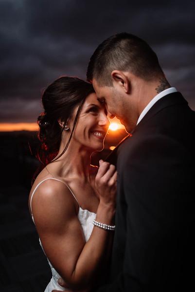 Cleveland, Ohio Wedding Photographer   Krista & Keith's Roof top Cleveland Wedding