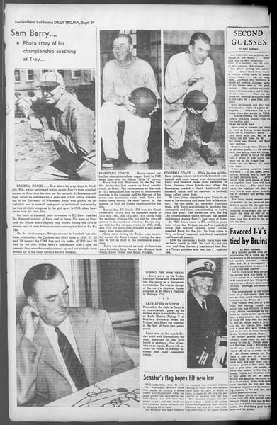 Daily Trojan, Vol. 36, No. 206, September 24, 1945