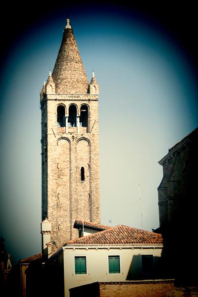 Campanile (bell tower), San Barnaba church, Venice, Italy