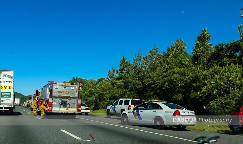 78 East MM4-5 Truck Fire June 14, 2016