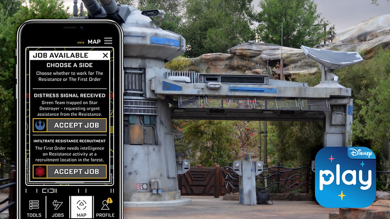 PLAY DISNEY PARKS app gets updates for 'Rise of the Resistance'