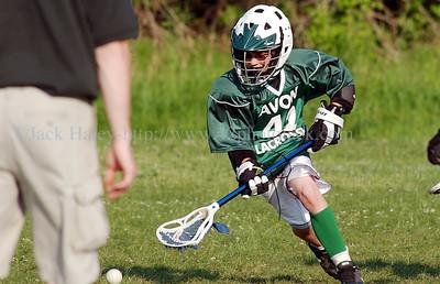Avon vs Eastridge in boys lacrosse