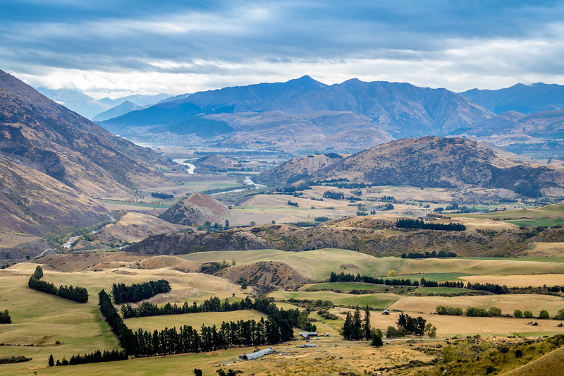 South Island River valley