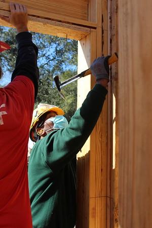 Construction Site & Volunteers: 1-29-2021