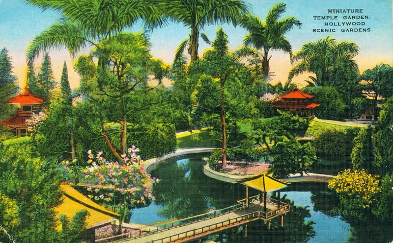 Miniature Temple Garden