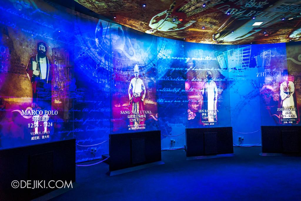 Resorts World Sentosa - Maritime Experiential Museum 2017 / Maritime Explorers Marco Polo Sang Nila Utama Ibn Batuta Zheng He