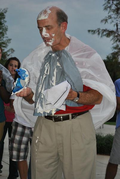 Dr. Bonner full of pie.