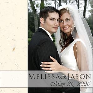 Melissa & Jason Album Spreads