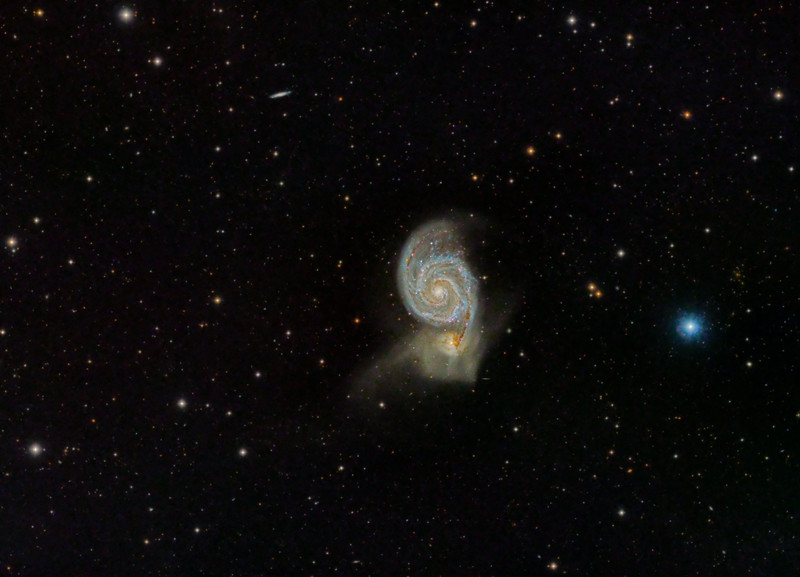 Messier 51 (Whirlpool-Galaxie)