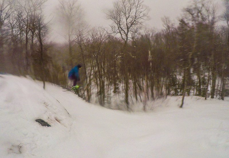 Still hitting the cliffs with these conditions.