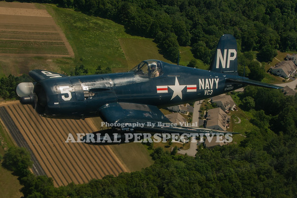 Corsair Shoot - R.I. Airshow 6/10/16 N45NL