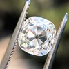 2.35ct Old Mine Cushion Cut, GIA J VS1 6