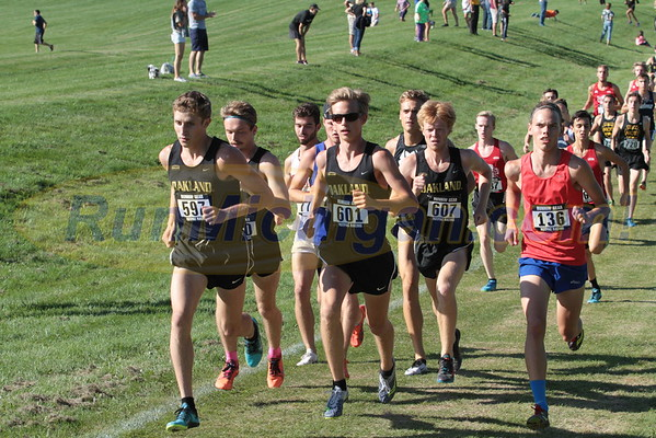 2016 Oakland University Golden Grizzly College XC Invite - September 2, 2016