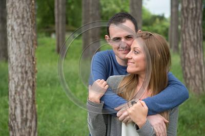 Andrea and Danny Fanhams pre-wedding