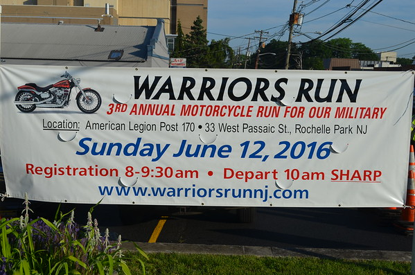 Warrior's Run, Inc's 3rd Annual Motorcycle Run 2016