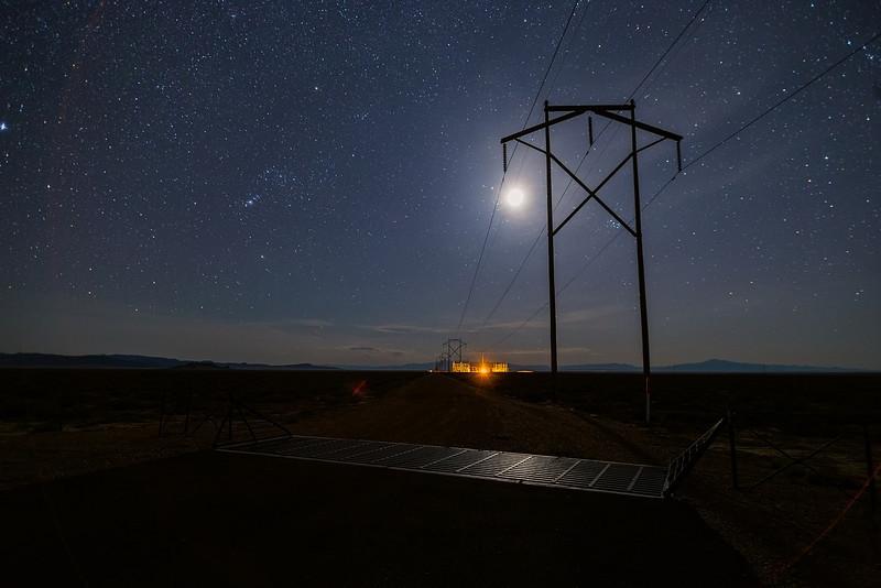Moonlit Powerstation