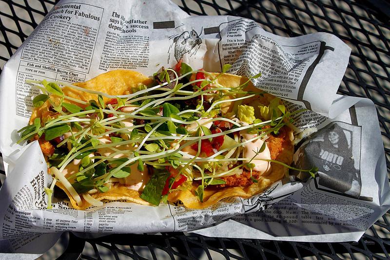 Birdie's Perch Fish Taco