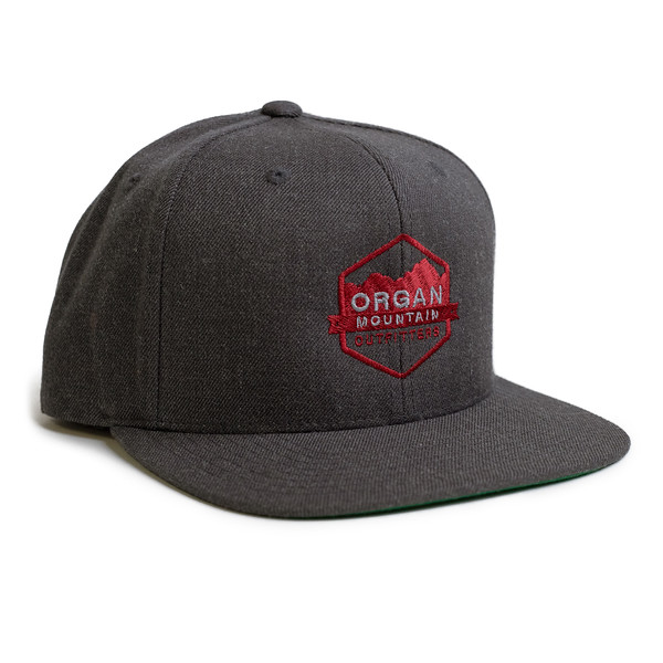 Outdoor Apparel - Organ Mountain Outfitters - Hat - Wool Blend Six-Panel Snapback - Dark Heather.jpg