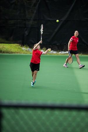JV Tennis Parent and Family Photos
