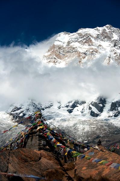 Prayer flags, Annapurna base camp, Nepal