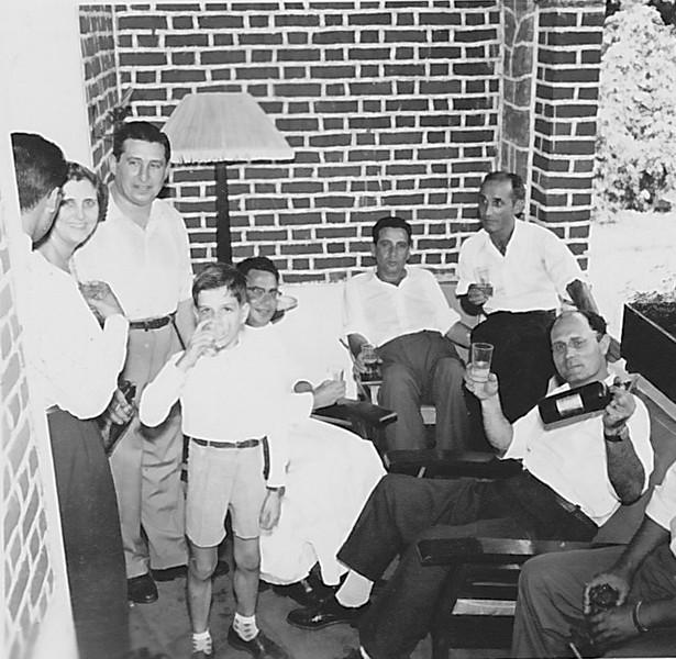 1958 Andrada,  Baptizado Guida Tavares Aurora Tavares, Tavares, Padre Casimiro, ?, Fontinhas, e Humberto Sousa
