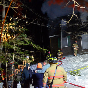 Two-alarm fire on chilly evening - 021420