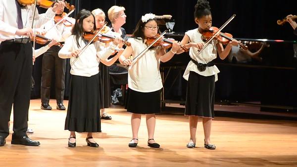 Mahannah and Christian Spring Violin Holy Names