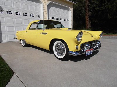 1955 Ford Thunderbird - Goldenrod Yellow - SOLD