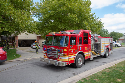 House Fire 9408 W Britton (9/30/18)