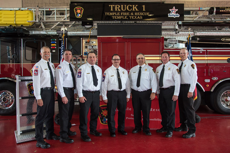 Temple Fire-Rescue Promotion Ceremony 4-6-2018