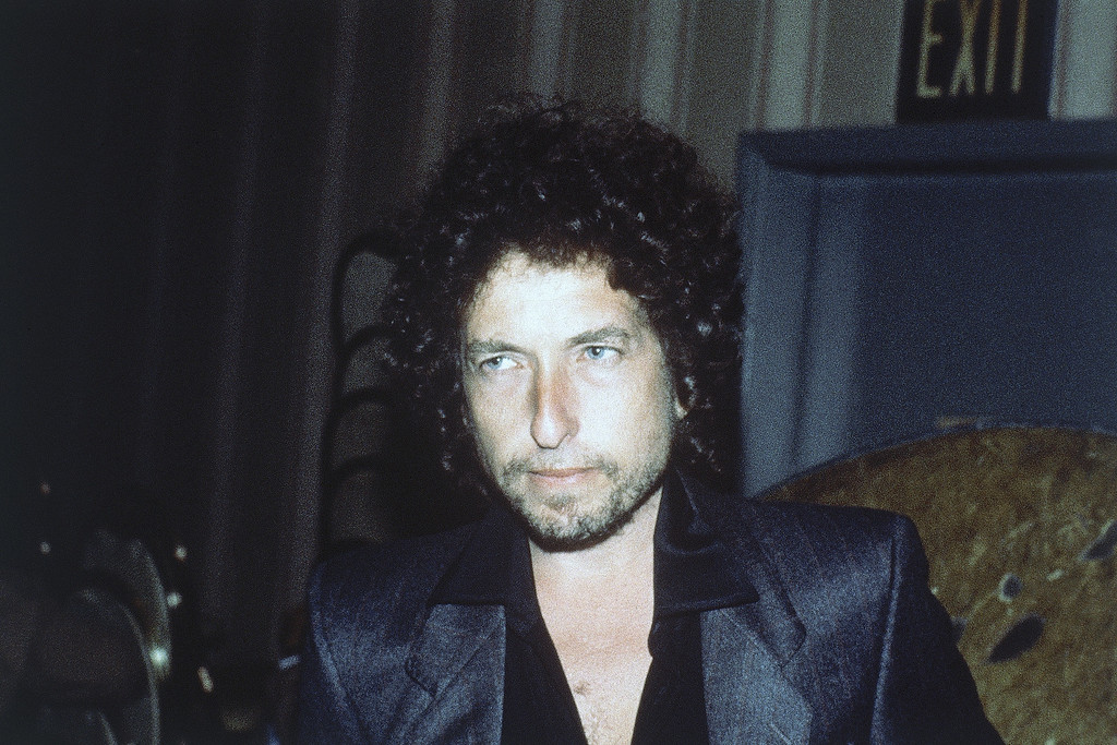 . Singer Bob Dylan pictured in 1982. (AP Photo)