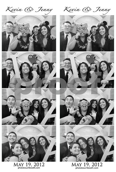 Jenny & Kevin's Wedding Photo Strips