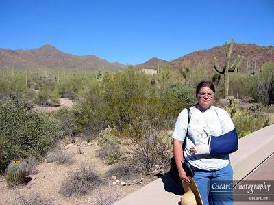 Honeymoon: Saguaro National Park