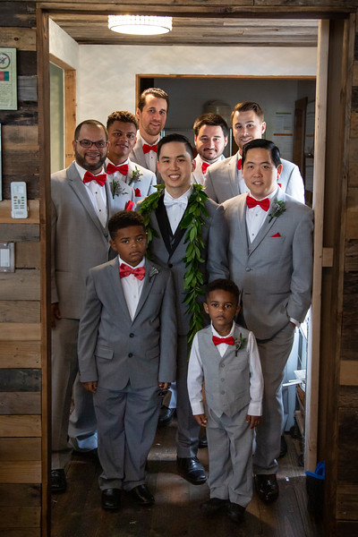 Goto Wedding: Josh and the Groomsmen