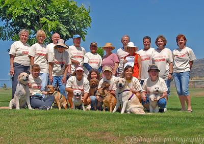 Hawaii Kai Dog Park - Hui Ilio volunteers