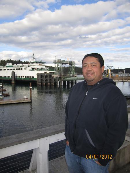 Ferry landing at Friday Harbor