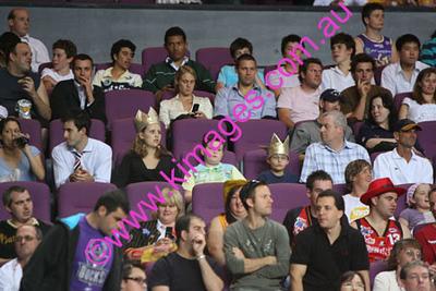 Kings Vs Tigers - Grand Final - Game 1 - 5-3-08 - Cheerleaders & Spectators.