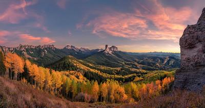 Fall Colors on Owl Creek Pass, Colorado