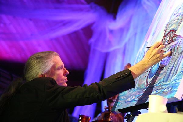Artist Alex Grey Sound Light & Spirituality 2, Wings Unity St Pete FL Phoos by Keth 11 12 09