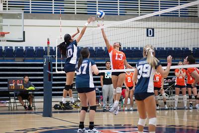 CSUF v CSUF Women's Volleyball Club Sport 1/26/12